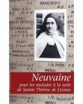 Neuvaines pour les malades à la suite de sainte Thérèse de Lisieux