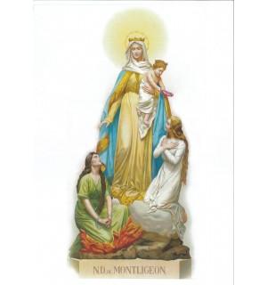Poster couleur Notre-Dame de Montligeon