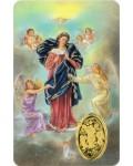 Image prière Marie qui défait les noeuds