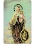 Carte prière Notre Dame du Mont Carmel
