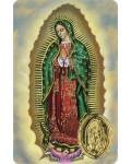 Carte prière Notre Dame de Guadalupe médaille