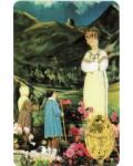 Carte prière Notre Dame de la Salette médaille