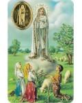 Carte prière Notre Dame de Fatima