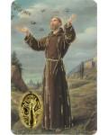 Image prière Saint François d'Assise