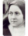 Carte prière Sainte Thérèse de Lisieux, visage