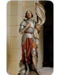 Carte prière Sainte Jeanne d'Arc