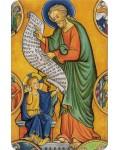 Carte prière Saint Joseph enluminure