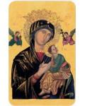 Carte prière Notre Dame du perpétuel secours