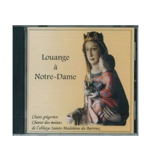 Louange à Notre Dame