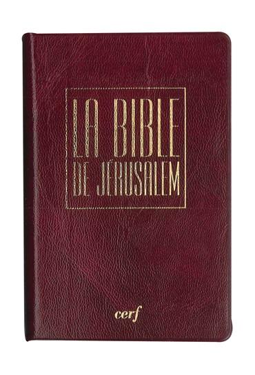 BIBLE DE JÉRUSALEM-ÉTUI- POCHE