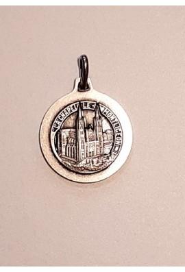 Médaille argentée - verso