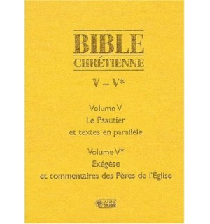 Bible chrétienne 5 psaumes