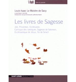 Livre audio Les livres de Sagesse
