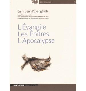 Livre audio Saint Jean L'Evangéliste
