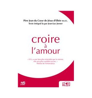 Livre audio Croire à l'Amour