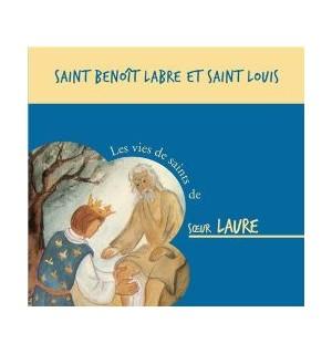Saint Benoît Labre et Saint Louis